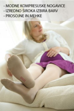 mediven elegance nosečniške hlačne nogavice