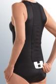 spinomed active (ČRNA) - hrbtenična opornica za pomoč pri osteoporozi